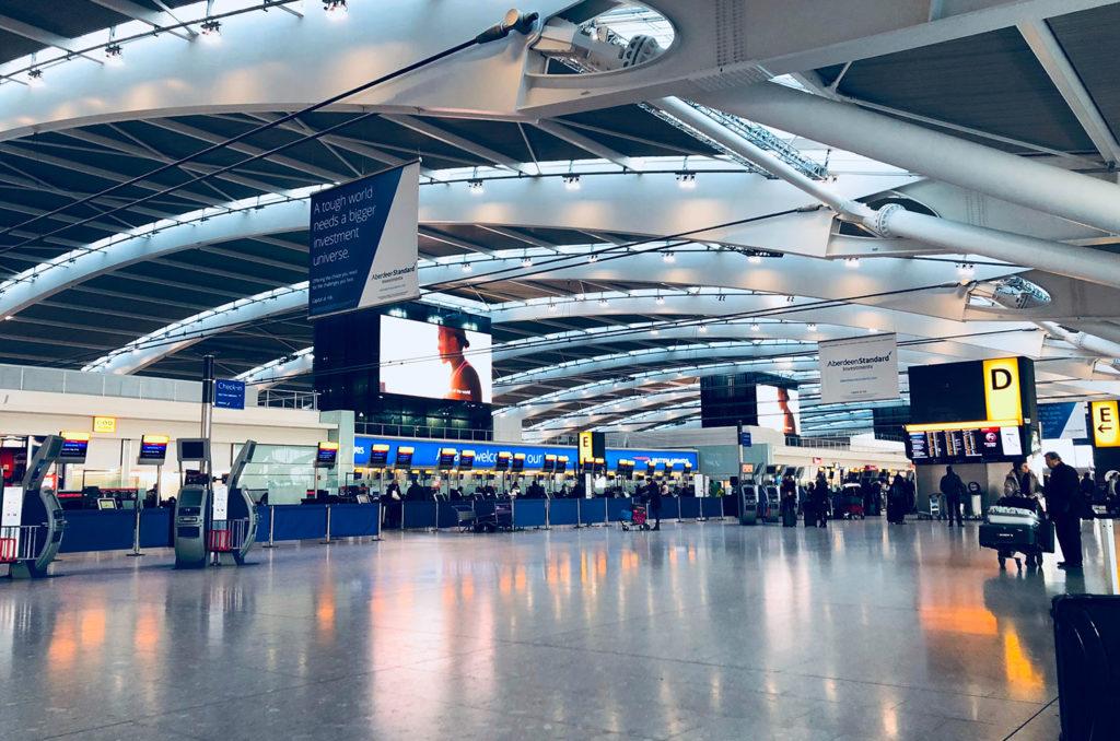 lavapavimenti professionale aereoporti